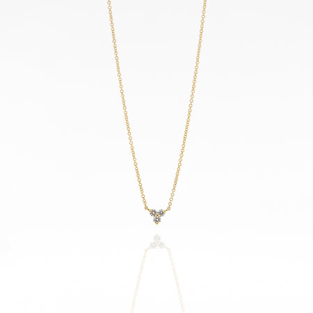 Trinity Triple Diamond Necklace