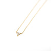 Zoe Triple Diamond Necklace
