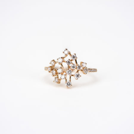 Constellation Diamond Ring by Atheria Jewelry