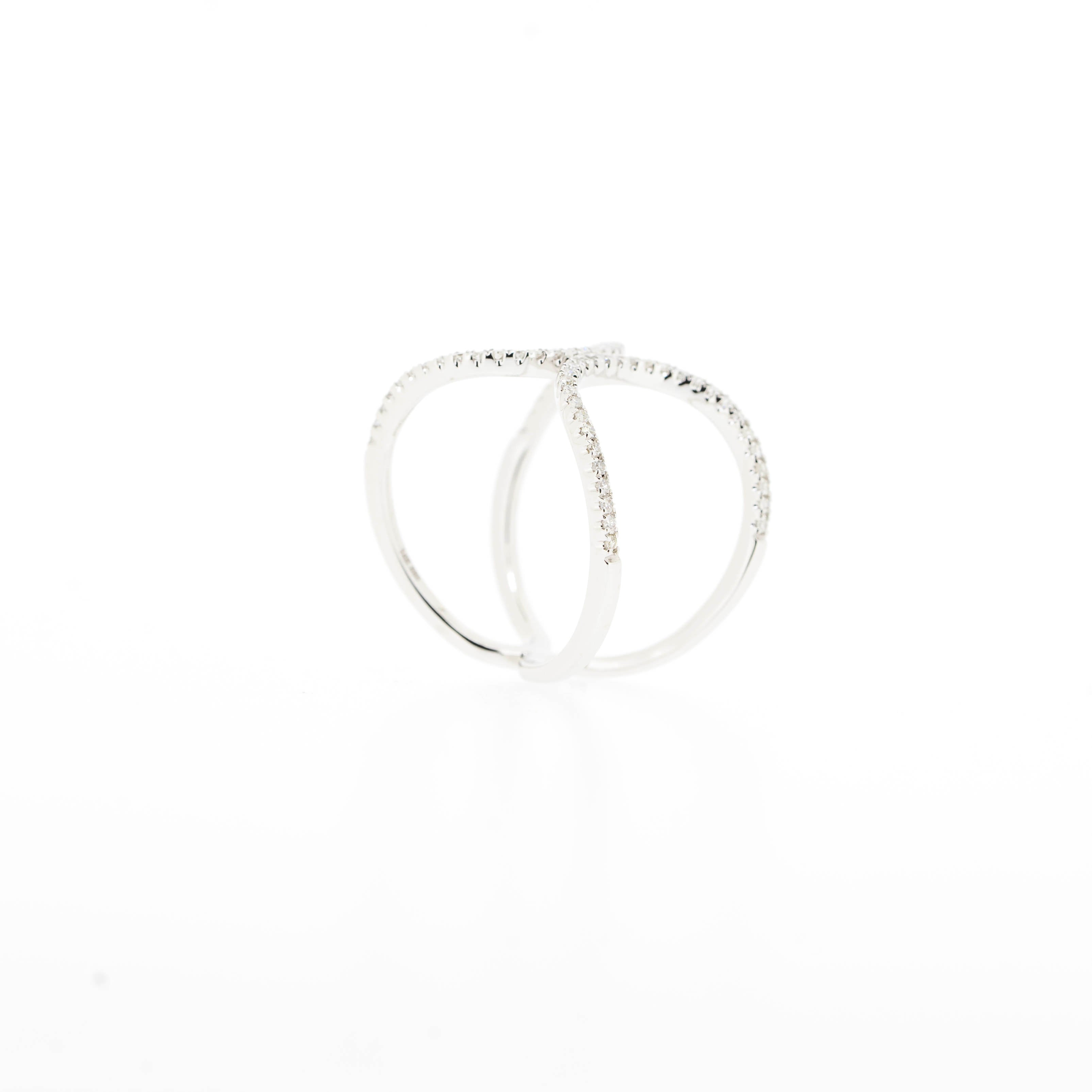 Isabelle Diamond Statement Ring