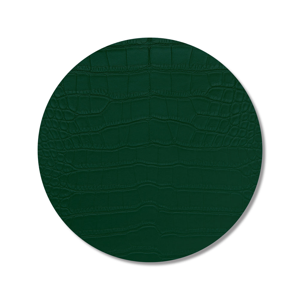 Green Croc Print Placemat- SET OF 4