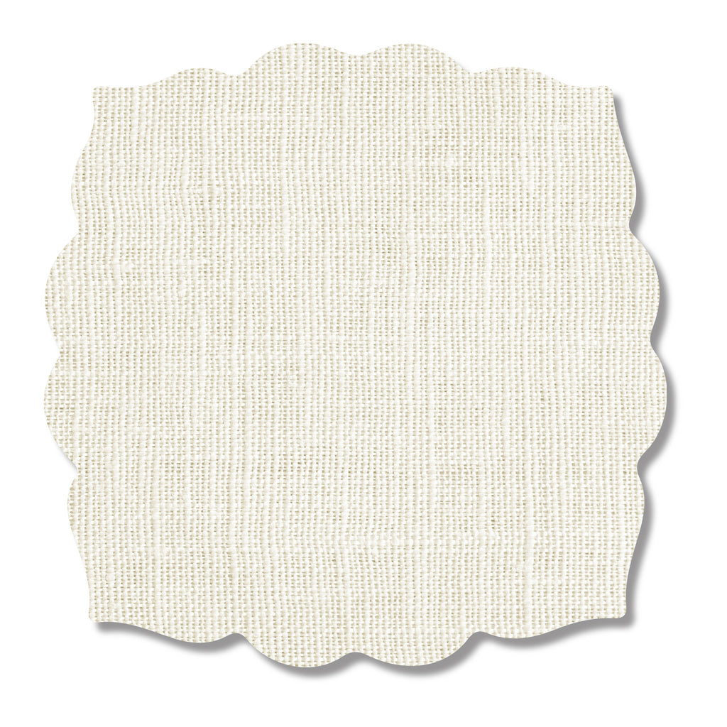 Ivory Linen Print Placemat- SET OF 4