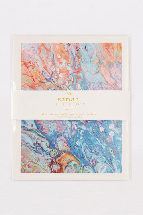 "Sanaa Marble Art Prints 8"" x 10"""