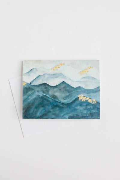 Sanaa Mountain Thank You Card Set