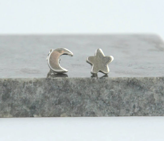 Kids Tiny Sky Earrings