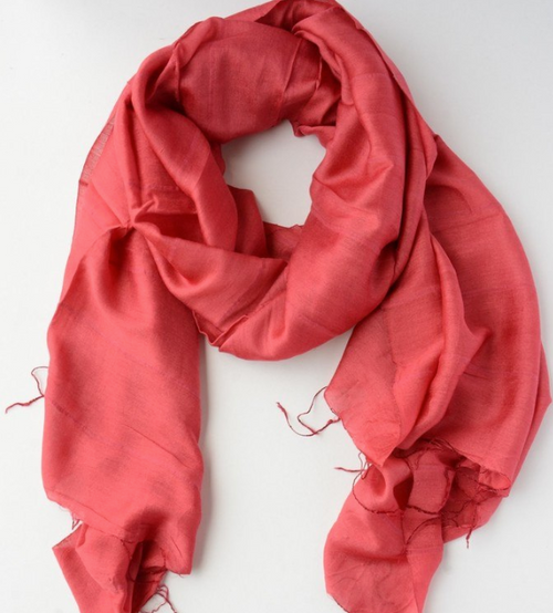 Red Lan Scarf