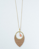 Fire Ring Necklace