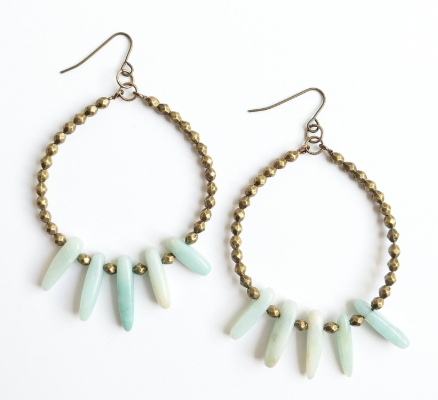 Light Blue Etta Earrings