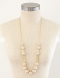 Karis Chunky Scoop Necklace