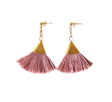 Josie Tassel Earrings Blush