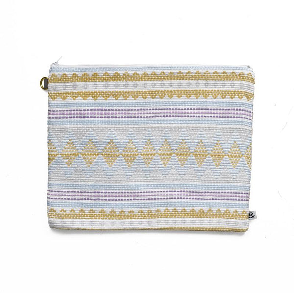 Large Woven Cotton Pouch Primavera