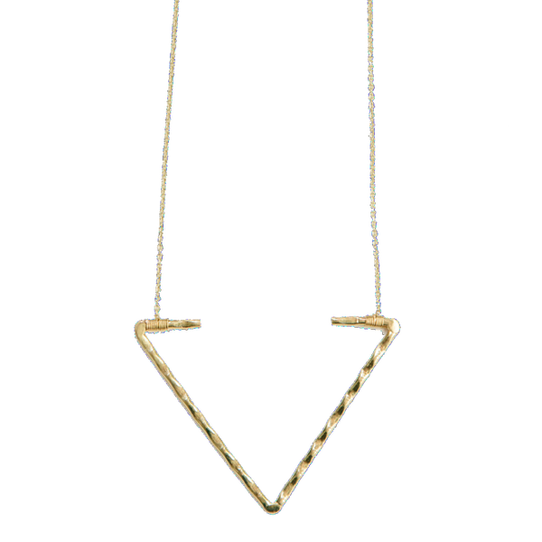 Open Arrow Necklace