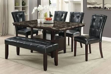 POU2460 6-Pcs Dining Set