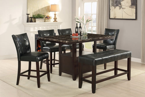 POU2461-1754-1755 6-Pcs Dining Set
