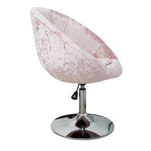 IMP-Antoinette Round Tufted Vanity Chair in Velvet