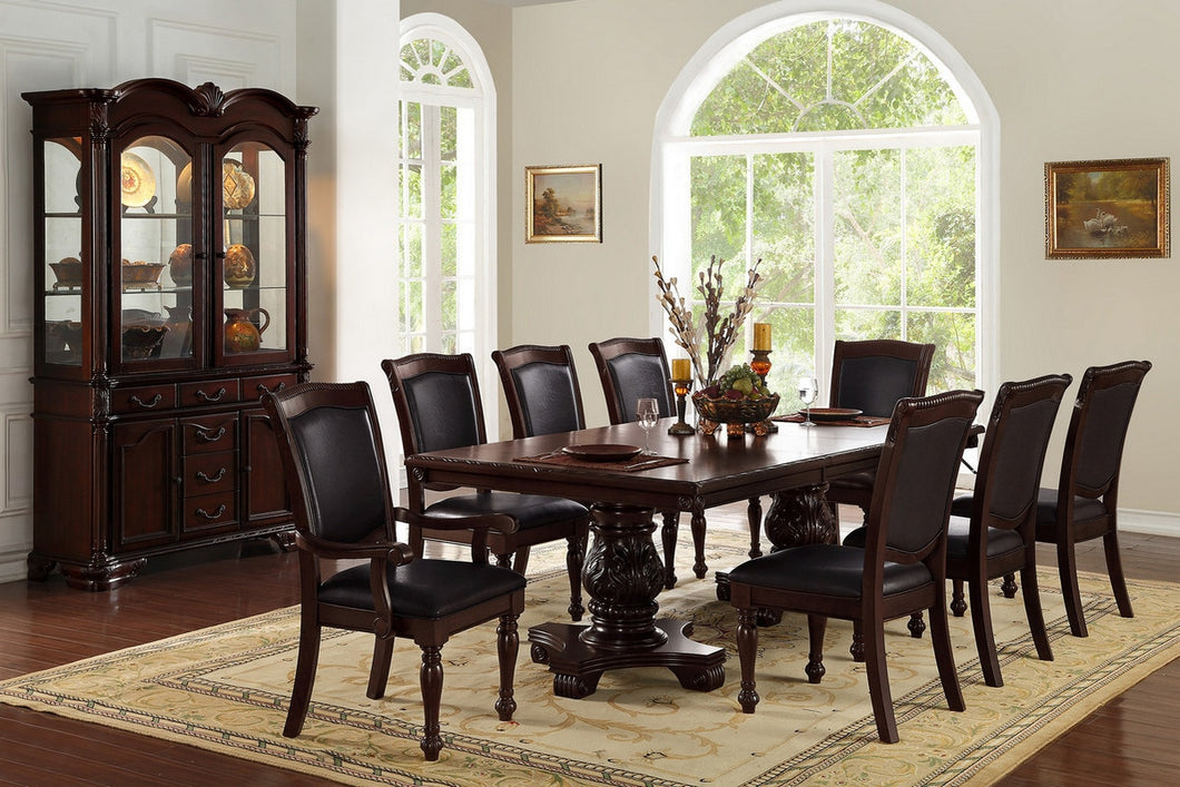 POU1729 9-Pcs Dining Set