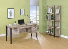 Load image into Gallery viewer, COA801950 - Samson Rustic Weathered Oak Desk