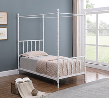 Load image into Gallery viewer, COA406055 KIDS CANOPY BED FRAME