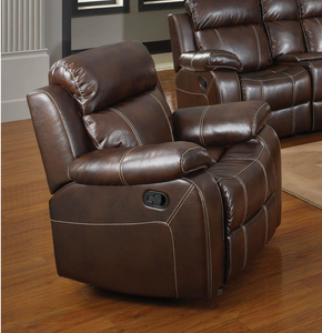 COA603023 Myleene Chestnut Leather Recliner