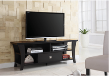 "Load image into Gallery viewer, COA700497 Transitional Cappuccino 60"" TV Console"
