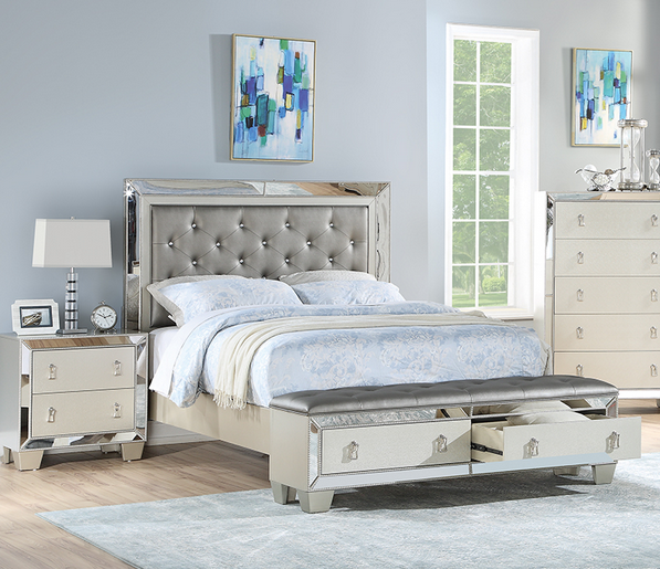 POU9429Q - Bed Frame Only