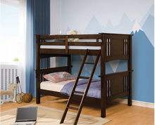 Load image into Gallery viewer, FOABK602  Spring Creek Twin/Full Bunk Bed