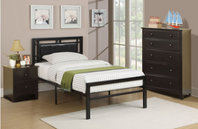 Load image into Gallery viewer, POU9413 Twin Metal Bed Frame