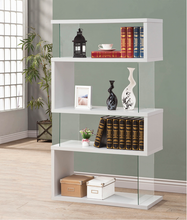 Load image into Gallery viewer, COA800340 Asymmetrical Bookcase