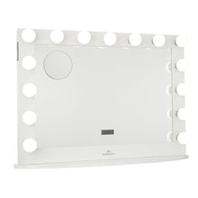 Load image into Gallery viewer, HOLLYWOOD ICONIC PREMIERE PRO VANITY MIRROR WITH BLUETOOTH SPEAKERS