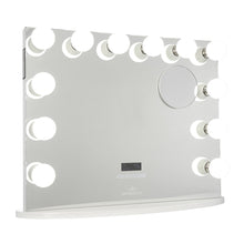 Load image into Gallery viewer, HOLLYWOOD PREMIERE PLUS VANITY MIRROR WITH BLUETOOTH SPEAKERS