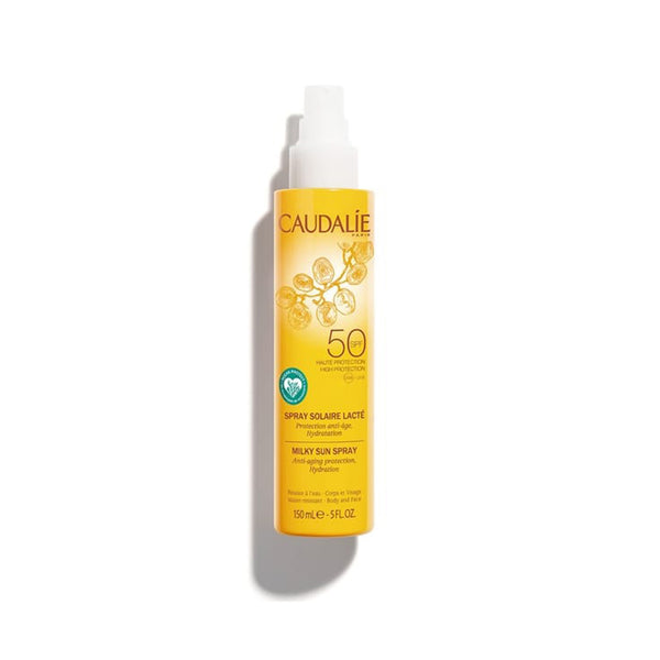Milky Sun Spray SPF50 Caudalie, - Stripes Fashion and Beauty