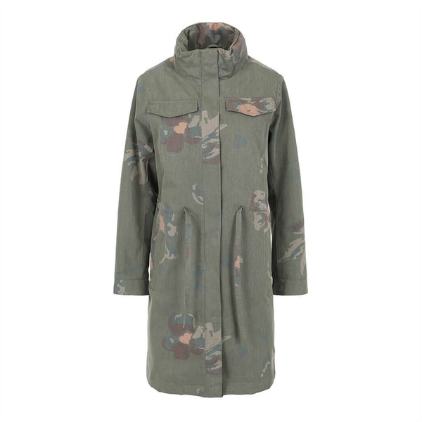 BRGN Dugg Parka Camo Floral BRGN, - Stripes Fashion and Beauty
