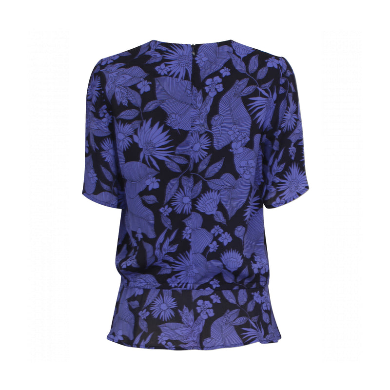 Meris Shirt Blue Floral Baum Und Pferdgarten, - Stripes Fashion and Beauty