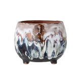 Deco Flowerpot Terracotta Bloomingville, - Stripes Fashion and Beauty