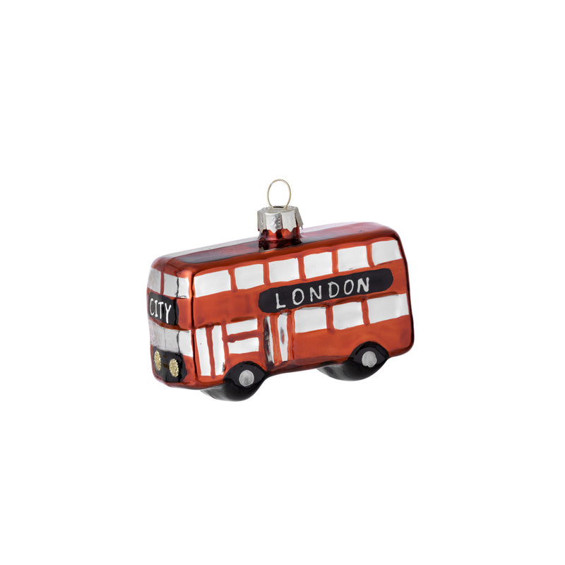 Christmas Bauble London Bus