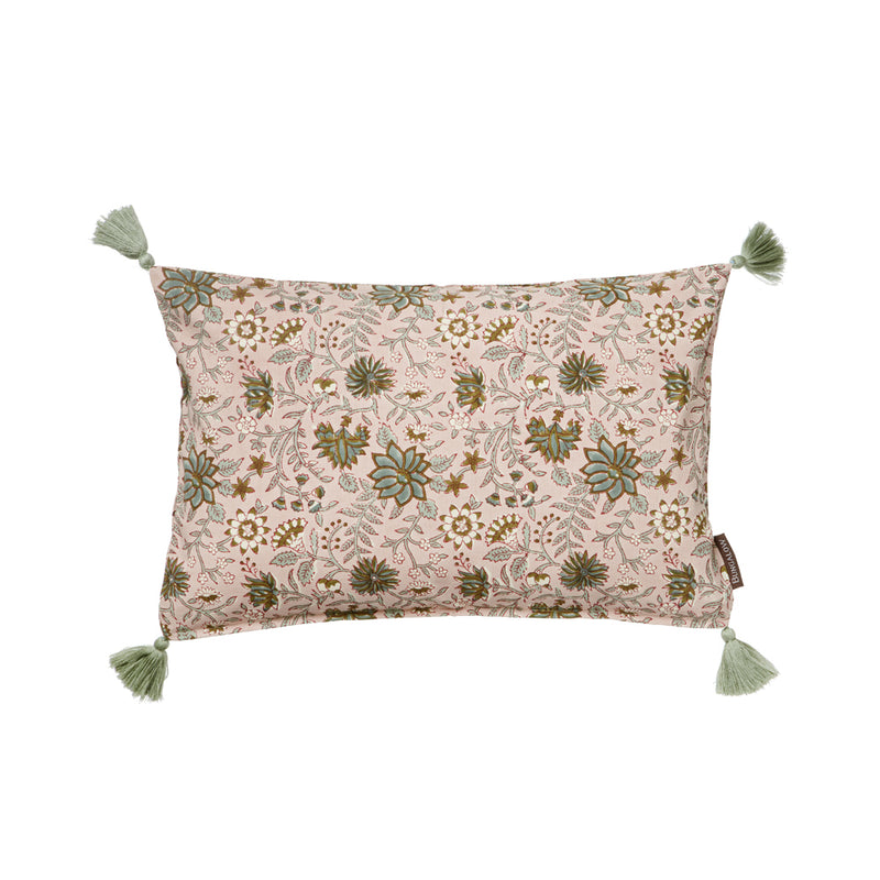 Bungalow cushion cover Komati Rose, cushion cover Bungalow, Bungalow textiles UK
