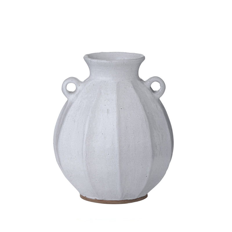 Vase with Handles Vital White