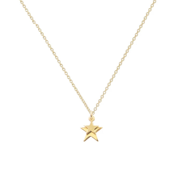 Cabinet Falling Star Necklace Gold