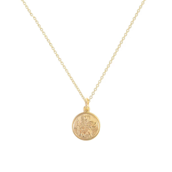 Cabinet Mini Safe Travels Necklace Gold Plated Cabinet Jewellery, - Stripes Fashion and Beauty