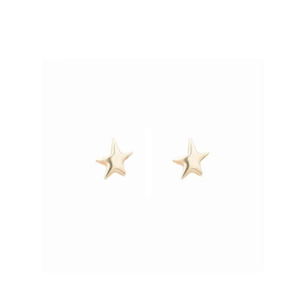 Cabinet North Star Studs Gold Cabinet Jewellery, - Stripes Fashion and Beauty