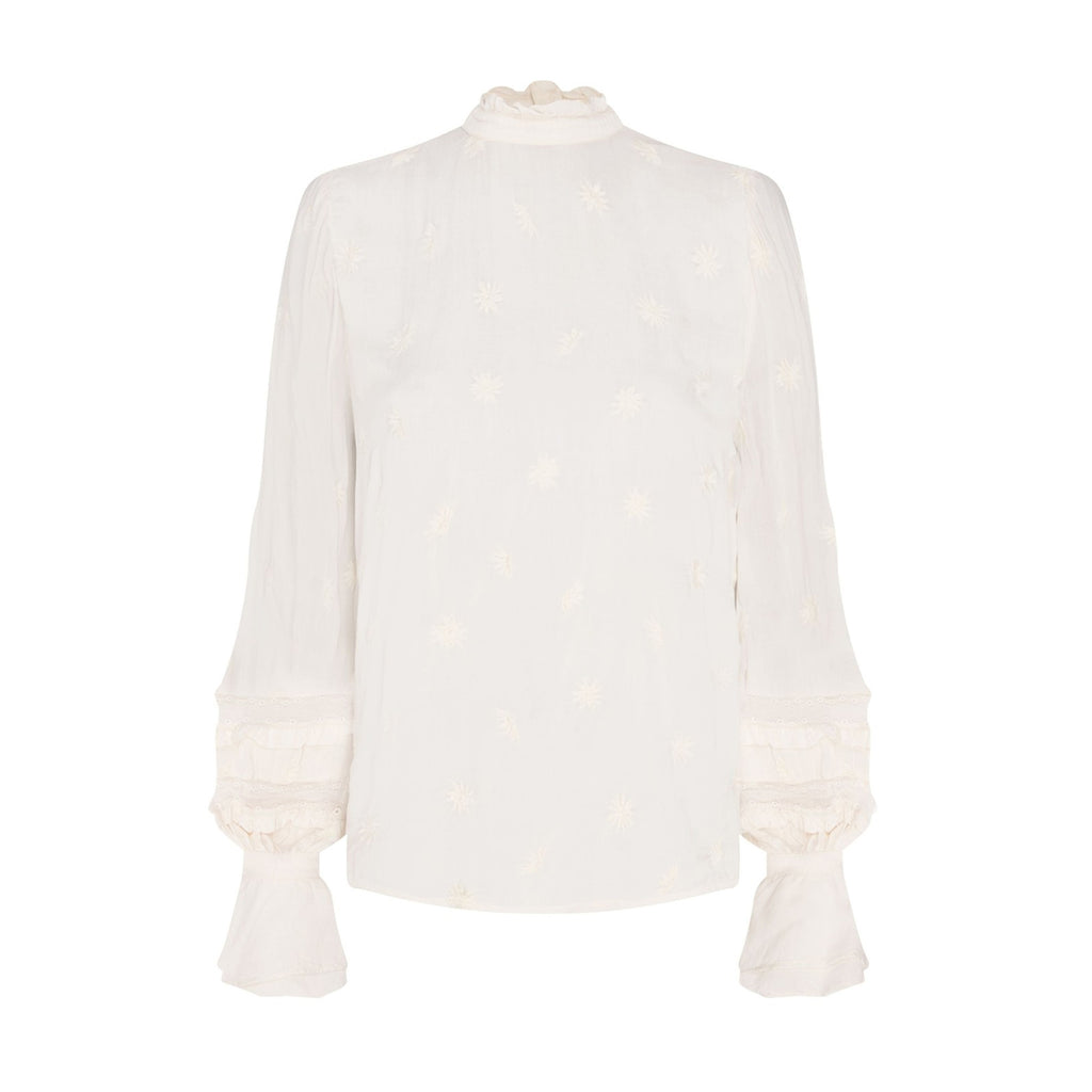 Leo Indy Top Off-White