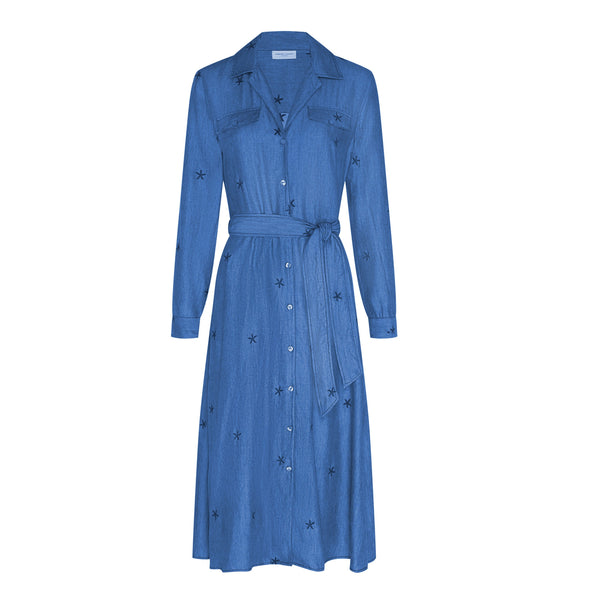 Thea Chambray Dress