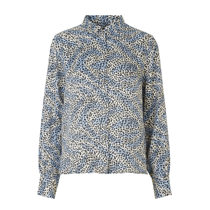 Isa Patterned Shirt Levete Room, - Stripes Fashion and Beauty
