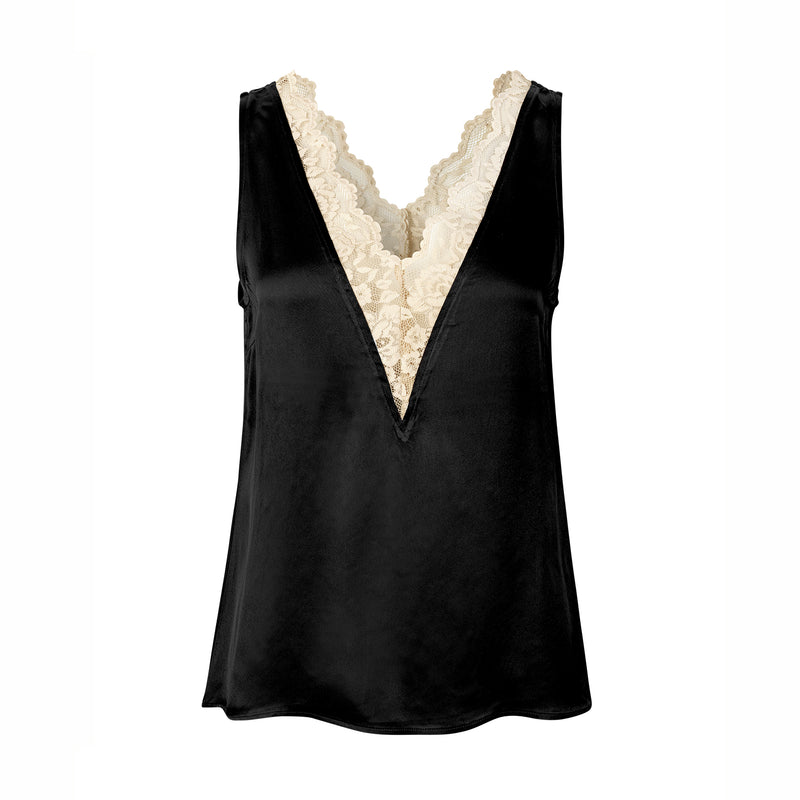 Levete Room Florence Lace Camisole Levete Room, - Stripes Fashion and Beauty