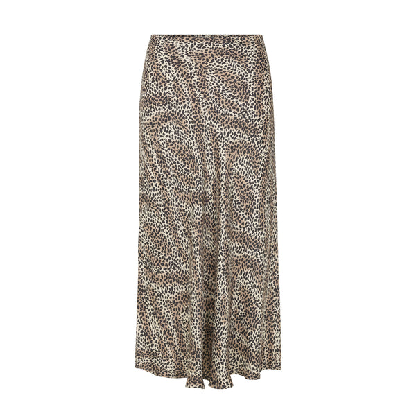 Isa Animal Print Skirt Levete Room, - Stripes Fashion and Beauty