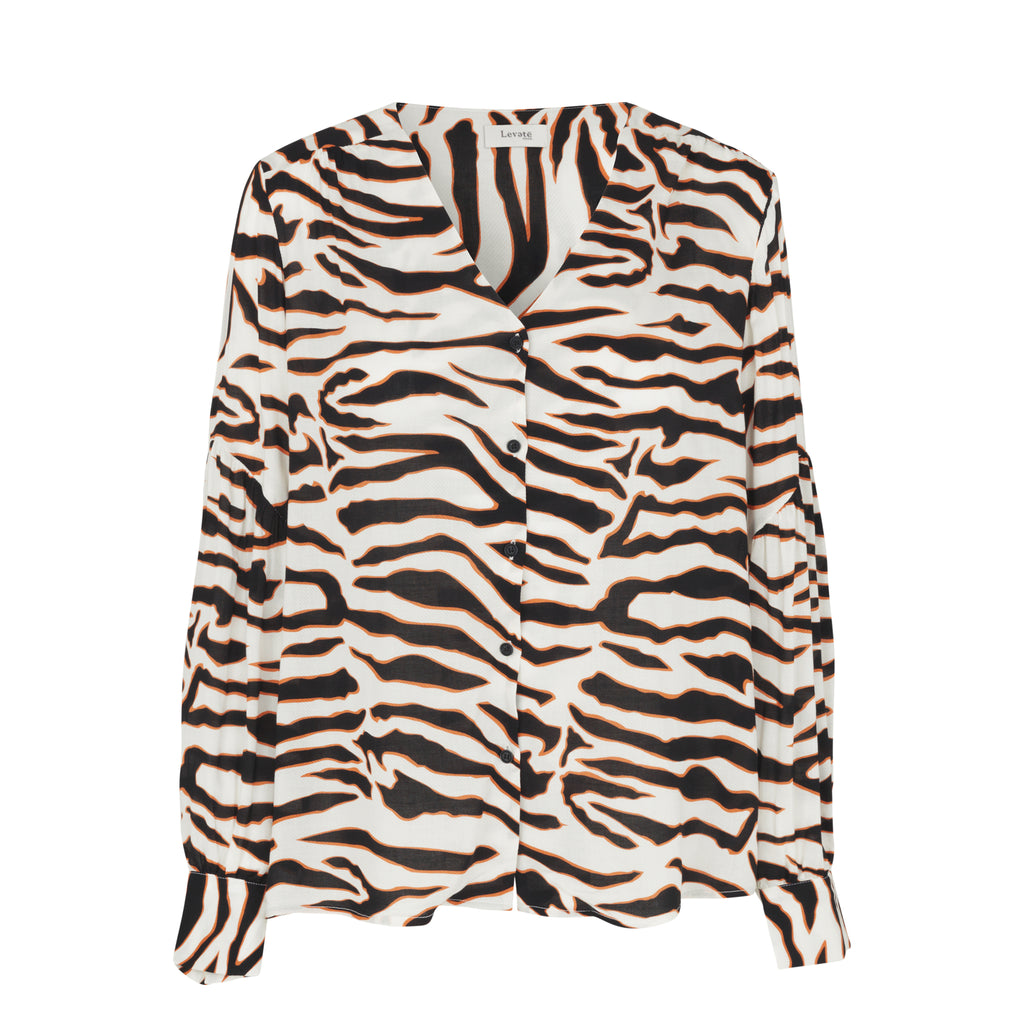 Ivy Zebra Shirt Levete Room, - Stripes Fashion and Beauty