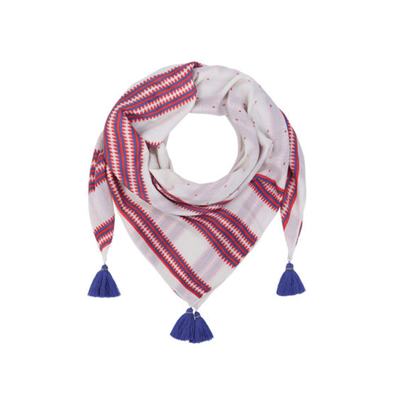 Cashmere Scarf Honeysuckle Mercy Delta, - Stripes Fashion and Beauty