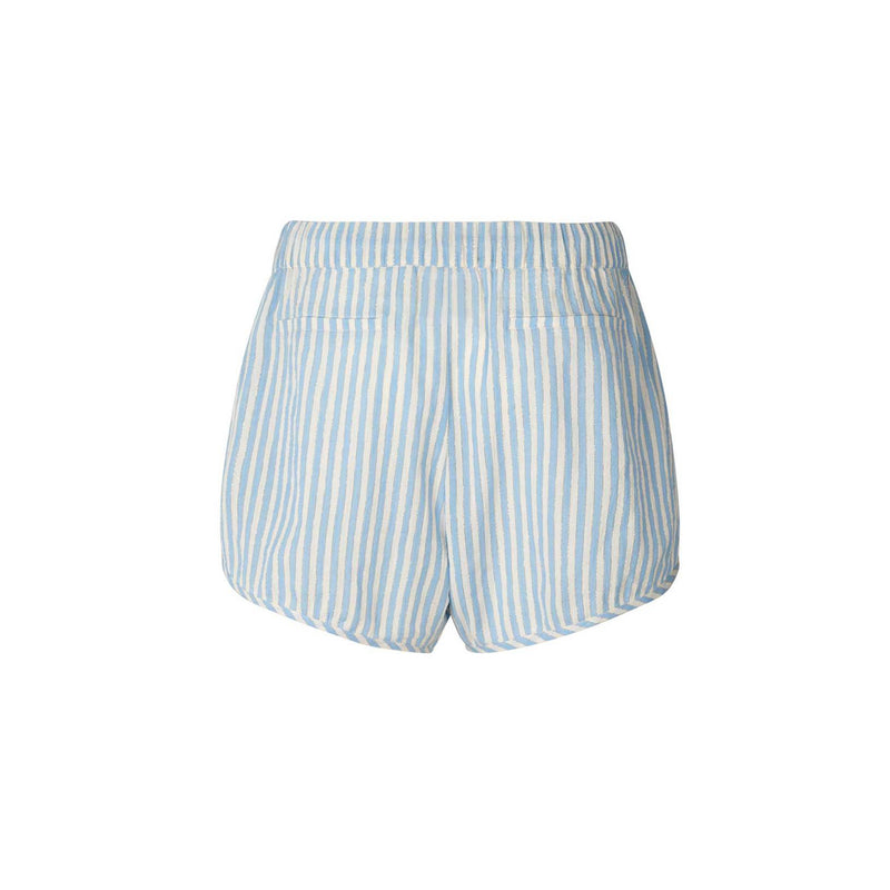 Pia Shorts Blue Stripe Lolly's Laundry, - Stripes Fashion and Beauty