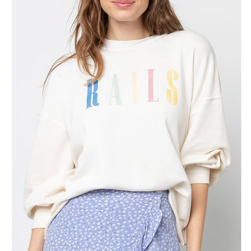 Rails Signature Sweatshirt Ivory