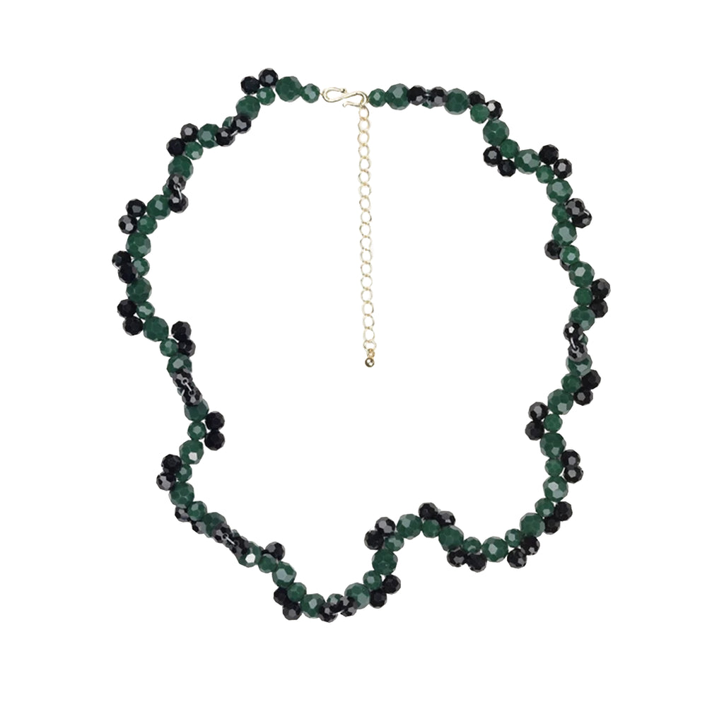 Twister Necklace Green